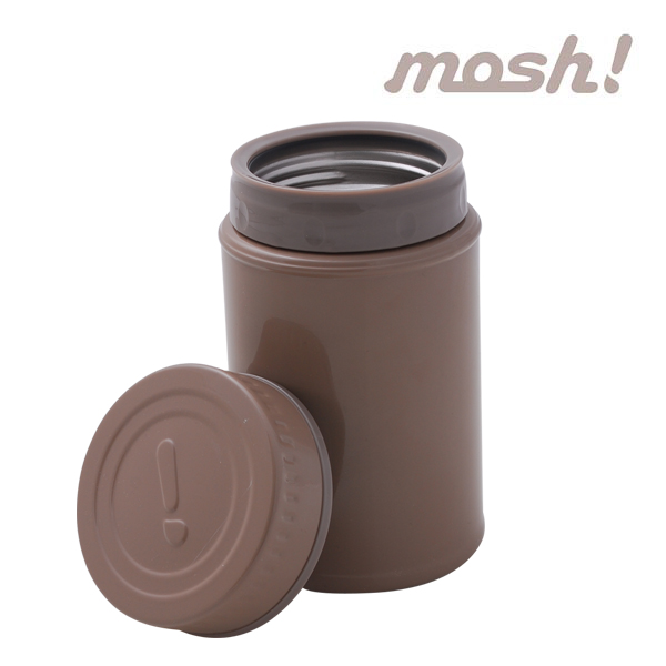 [MOSH]모슈 보온보냉 죽통350ml (브라운)